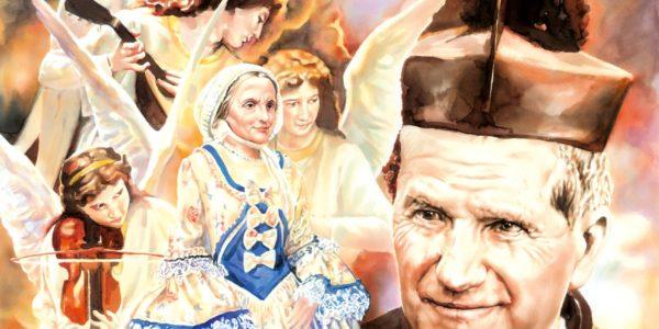 Don Bosco sogna sua madre
