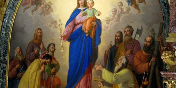 La Madonna predice la guarigione del chierico Olive